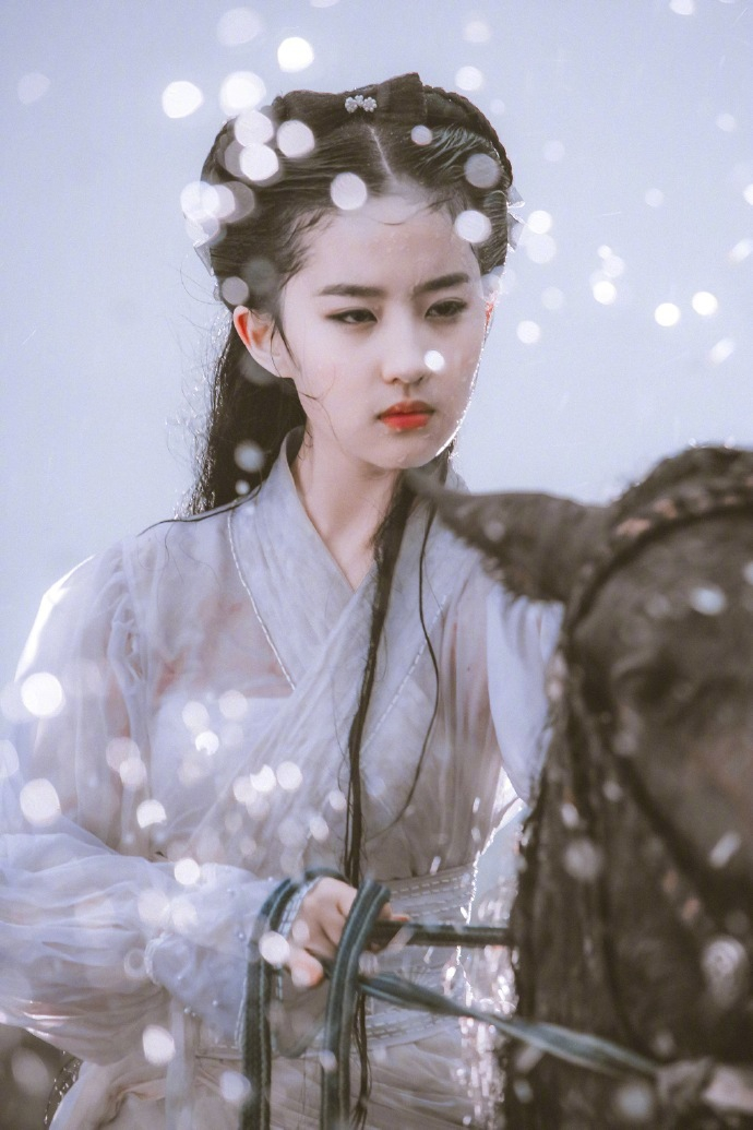 神仙姐姐刘亦菲为了演好花木兰太拼了-第2张图片